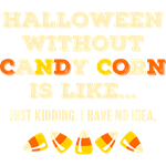 Halloween Without Candy Corn