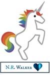 Unicorn with Logo
