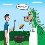 Dragon Grilling