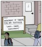 Lights, Camera, Unemployment!
