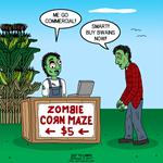 Zombie Corn Maze