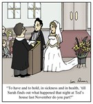 Wedding Vow Disaster