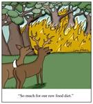 Raw Food Diet Deer