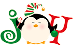 Christmas Penguin Joy 2
