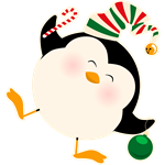 Happy Christmas Penguin