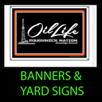BANNERS and YARD SIGNS