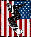 American Snowboarder