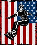 Women Snowboarder Winter Sports USA