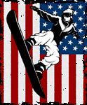Snowboarder Winter Sports USA
