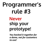 Programmer's Rule #3