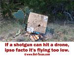 Ipso Facto Ex-Drone, Ex party overhead.