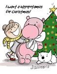 Hippo For Christmas!