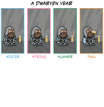 A Dwarven Year