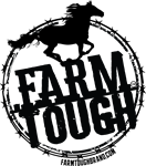Farm Tough - Horse Silhouette