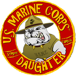 US Marine Corp Daughter (Devil Dog)