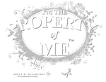 Property of Me -White Ltr.
