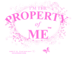 Property of Me - Pink Ltr.