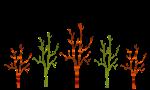 Red Tree Green tree