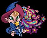 Baby Wizard Psychadelic