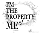 'Property of Me' -Bold Ltr