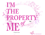 'Property of Me' Pink Ltr.