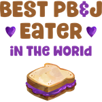 World's Best PBJ Eater