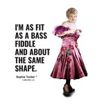 Fit as a bass fiddle
