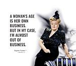 A woman's age
