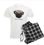 Wee Shug The Scottish Pug