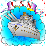US Navy Ship Tattoo