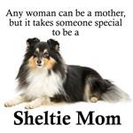 Tri-Color Sheltie Mom