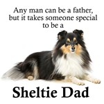 Tri-Color Sheltie Dad