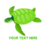 Turtle Personalized