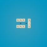Scrabble One Plus One Six