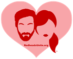 Redheads Unite Heart