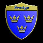 Sweden Metallic Shield