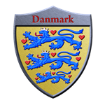 Denmark Metallic Shield