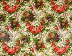 Fruit Floral Luxury Wallpaper