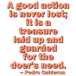 A Good Action
