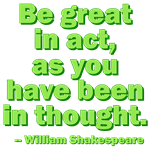 Be Great In Act