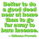 Better To Do A Good Deed
