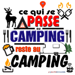 Camping reste au Camping