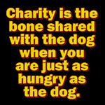 Charity Is The Bone