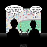 Football Commentator Blooper