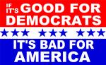 Democrats bad for America