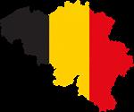Belgian Map Flag