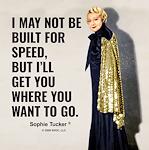 Not built for speed
