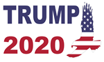 Trump 2020 American Eagle Flag