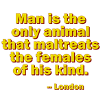 Man Is the Only Animal