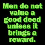 Men Do Not Value
